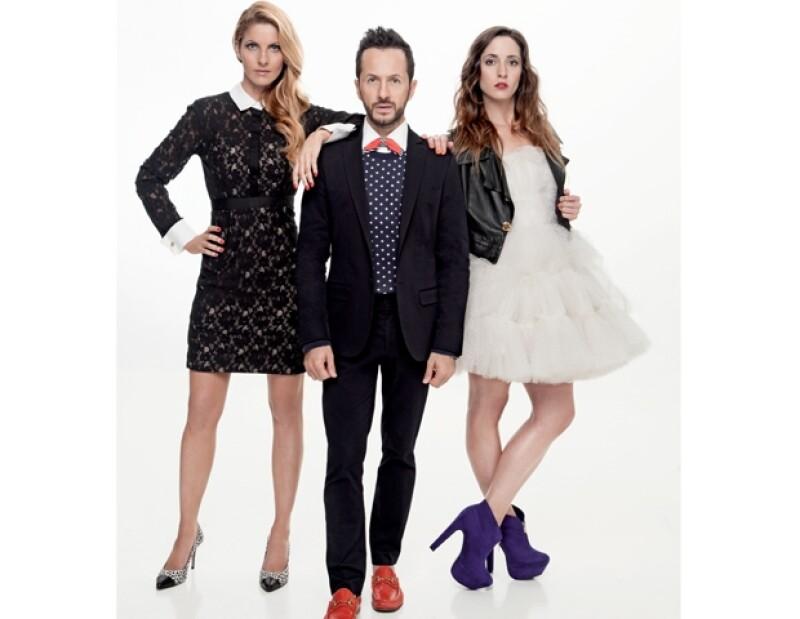 Marcela Cuevas, Óscar Madrazo y Alexis de Anda son los policías de la moda de México.