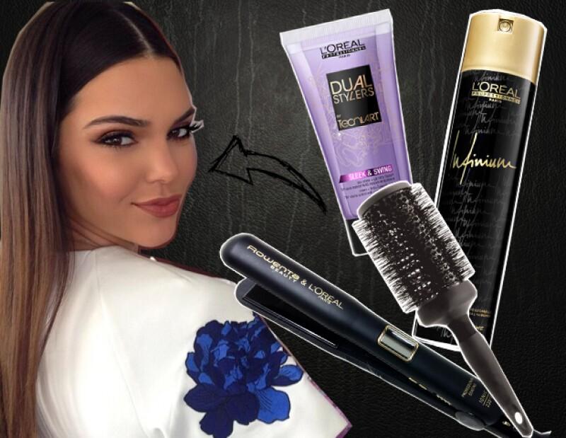 L`Oréal Professionnel nos enseña paso a paso, cómo lograr el ultrasleek.