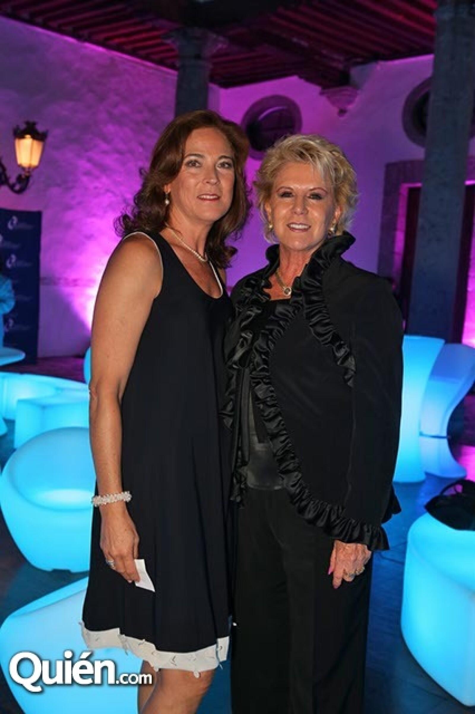 Claudia Fernández y Esperanza Barreiro