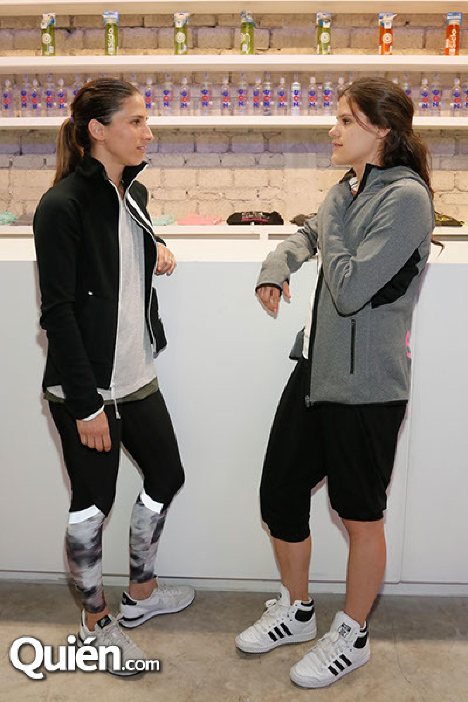 Daniela Reta y Ximena Carpinteyro