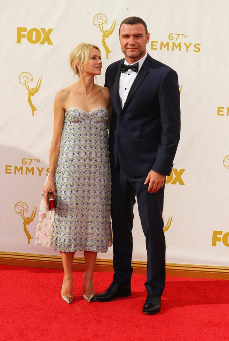 Naomi Watts y Liev Schreiber.