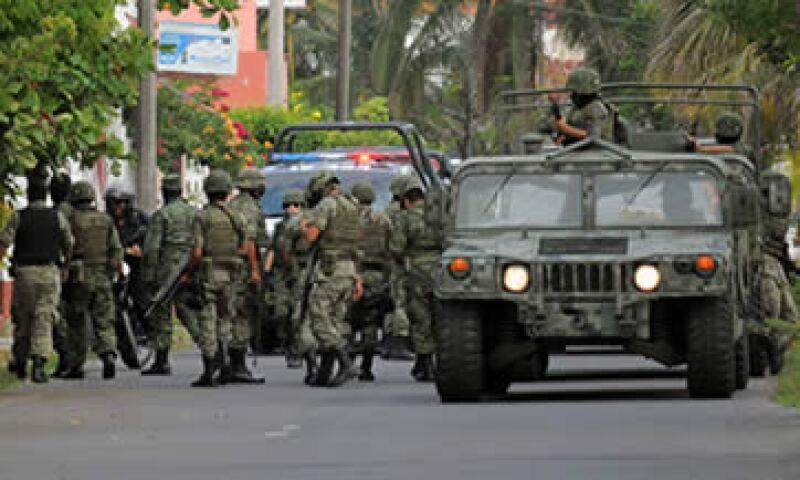 La violencia es uno de los factores que deberá atacar el Gobierno para potenciar las inversiones en Veracruz. (Foto: Notimex)