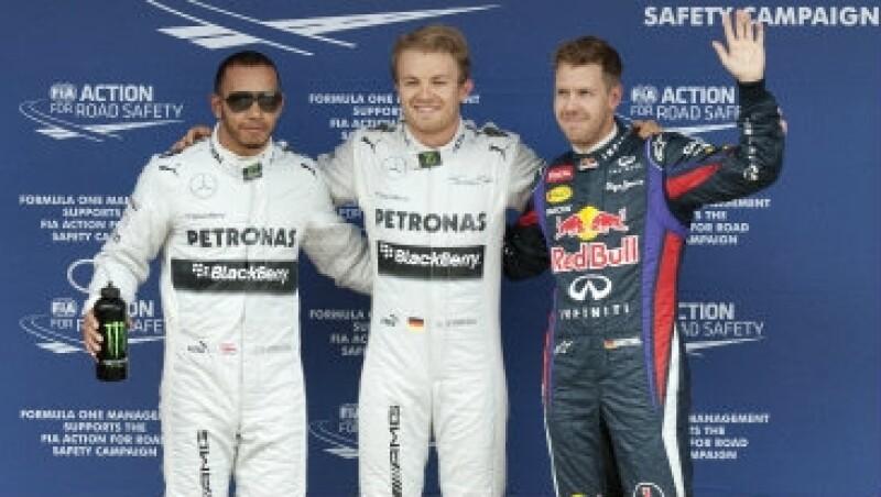Rosberg Hamilton Kimi Raikkonen GP Espana