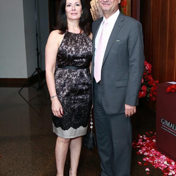 Claudia Morales de García y Jorge García Segovia