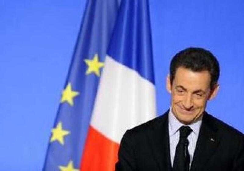 Nikolás Sarkozy anunció que el país obtendrá 22,000 mde en los mercados y 13,000 mde, de la devolución de los bancos de su rescate financiero. (Foto: Reuters)