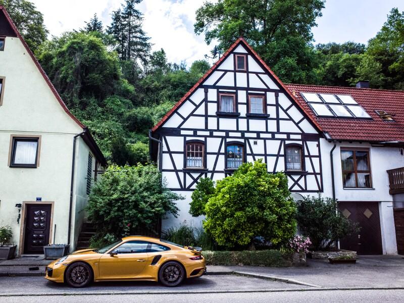 Porsche 911 Turbo S Exclusive Series colores