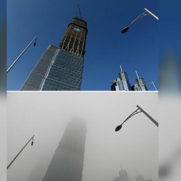 Se espera que la capa de polución afecte la capital china durante tres días.
