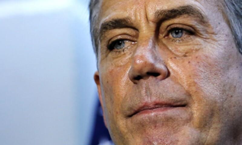 Boehner intentó dos veces este martes avanzar con un proyecto, pero no consiguió apoyo suficiente. (Foto: Reuters)