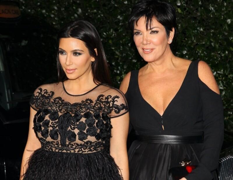 La manager de la familia Kardashian aseguró en el show de Joan Rivers que lloró cuando supo del clip de su hija con el rapero Ray J.