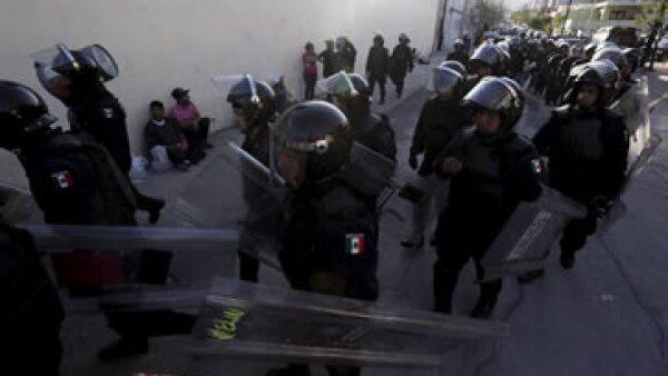 Las fuerzas federales resguardarán las instalaciones, gracias a un convenio entre Nuevo León y la Comisión Nacional de Seguridad. (Foto: Reuters)