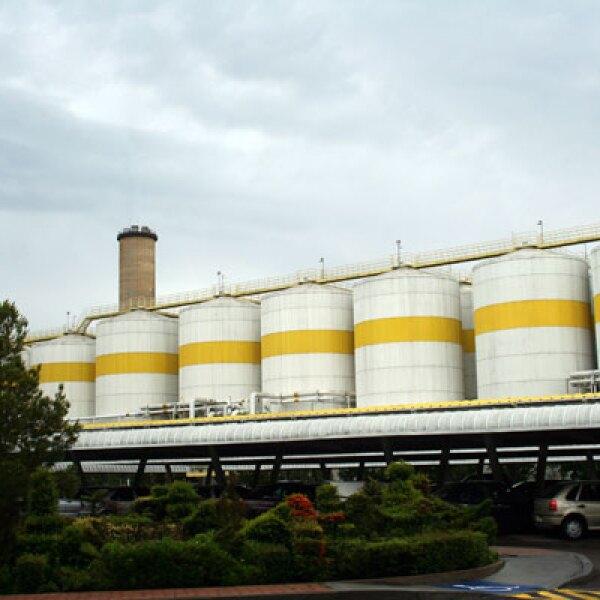 En su planta de Zacatecas, la compañía de cerveza Modelo tiene una capacidad instalada de 20 millones de hectolitros anuales, lo que la lleva a generar una gran cantidad de bagazo.