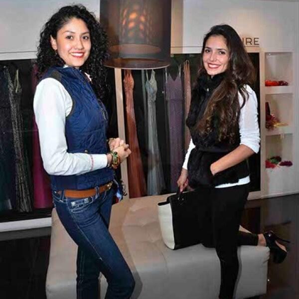 Jessica Pedraza y Alida García.
