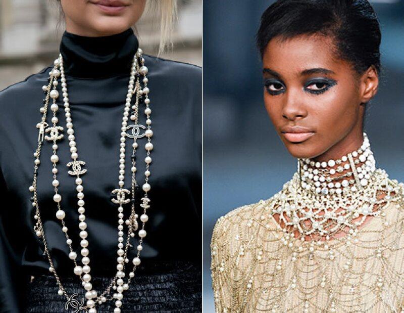 Las perlas, firma nacarada de Chanel.