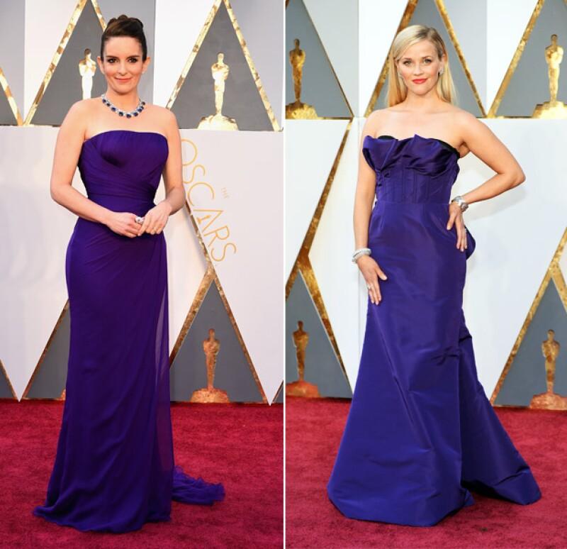 Las actrices llevaron prácticamente el mismo vestido a la premiación. ¿Quién crees que lució mejor?