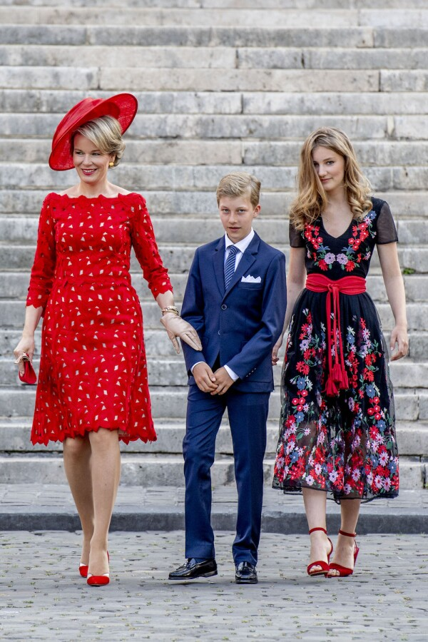 Belgian Royals Attend National Day