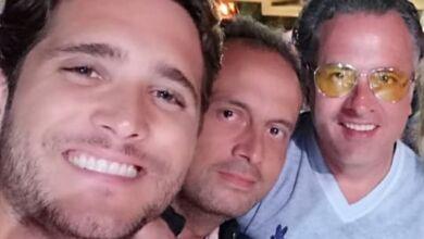 Diego Boneta y los hermanos Zedillo
