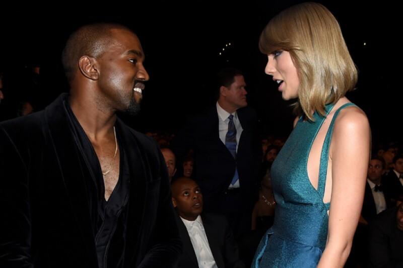 El cantante decidió publicar una imagen en la que muestra con total claridad de qué lado está en el conflicto Taylor vs. Kimye.