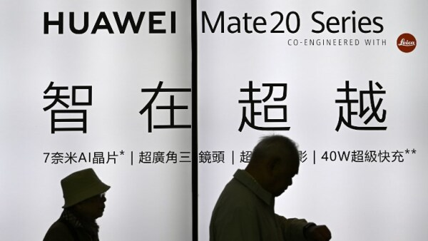 TAIWAN-CHINA-TECHNOLOGY-HUAWEI