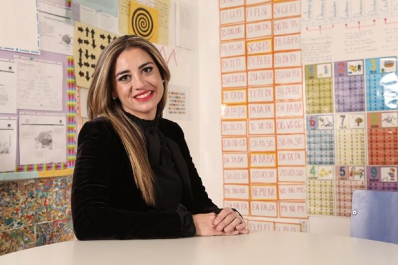 Esmeralda Cabeza de Vaca, presidenta de Fundación Coparmex.