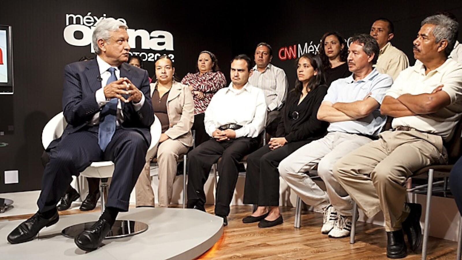 foro CNN OBRADOR