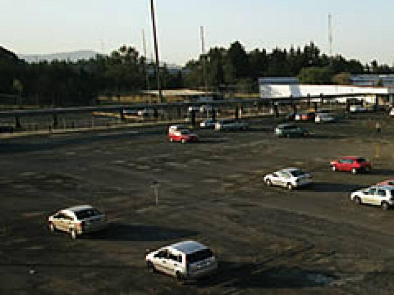 Desolada lucía la planta de Chrysler, en Toluca, Estado de México, el viernes 10 de enero a las 16:30 horas. (Foto: Adán Gutiérrez)