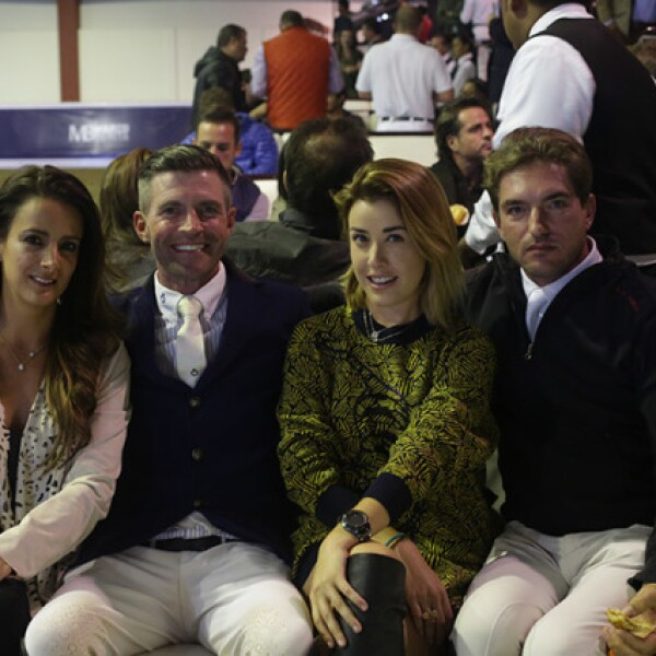 Andrea Reygadas,Nicolai Heim,Daniela Martínez y Gabriel Ceola