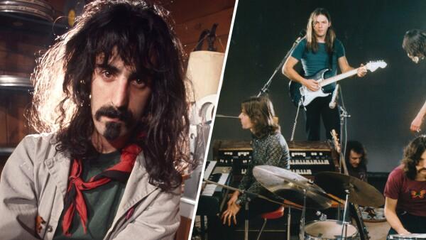 Frank Zappa y Pink Floyd