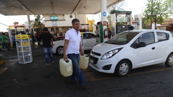 Sener Pemex desabasto combustible