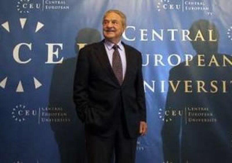 Geoge Soros dijo que es necesario incrementar los controles sobre los movimientos internacionales de capital. (Foto: Reuters)