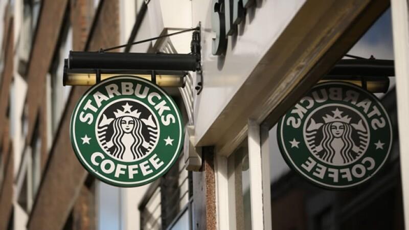 Starbucks cafeteria cafes