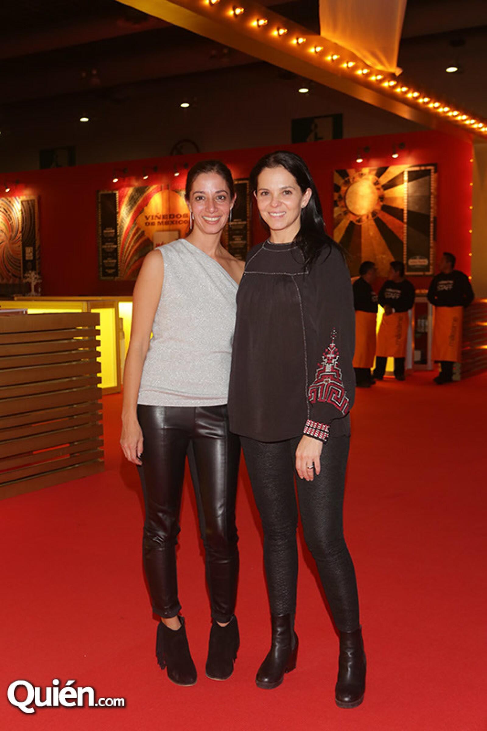 Jimena Torres y Vivian Aldrete