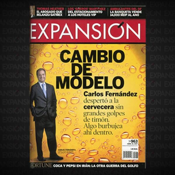 Tras de años al frente de Modelo, el CEO Carlos Fernández había logrado hacer de la cervecera la séptima en el mundo e hizo de Corona la cuarta marca mejor vendida en ese mercado. El ejecutivo demostraba que sí sabía jugar a la diversificación.