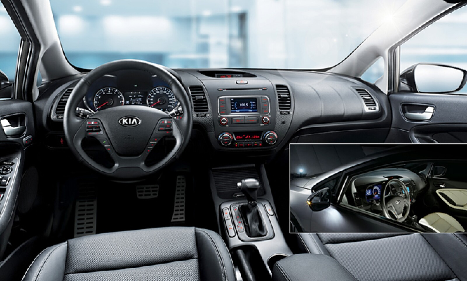El puesto de manejo está pensado al conductor y tiene un diseño intuitivo que combina funcionalidad y estilo.