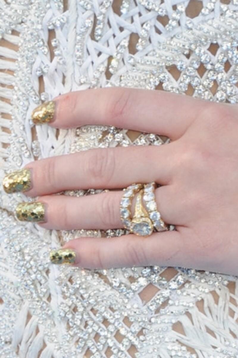 El anillo tiene un costo de 250 mil dólares aproximadamente.