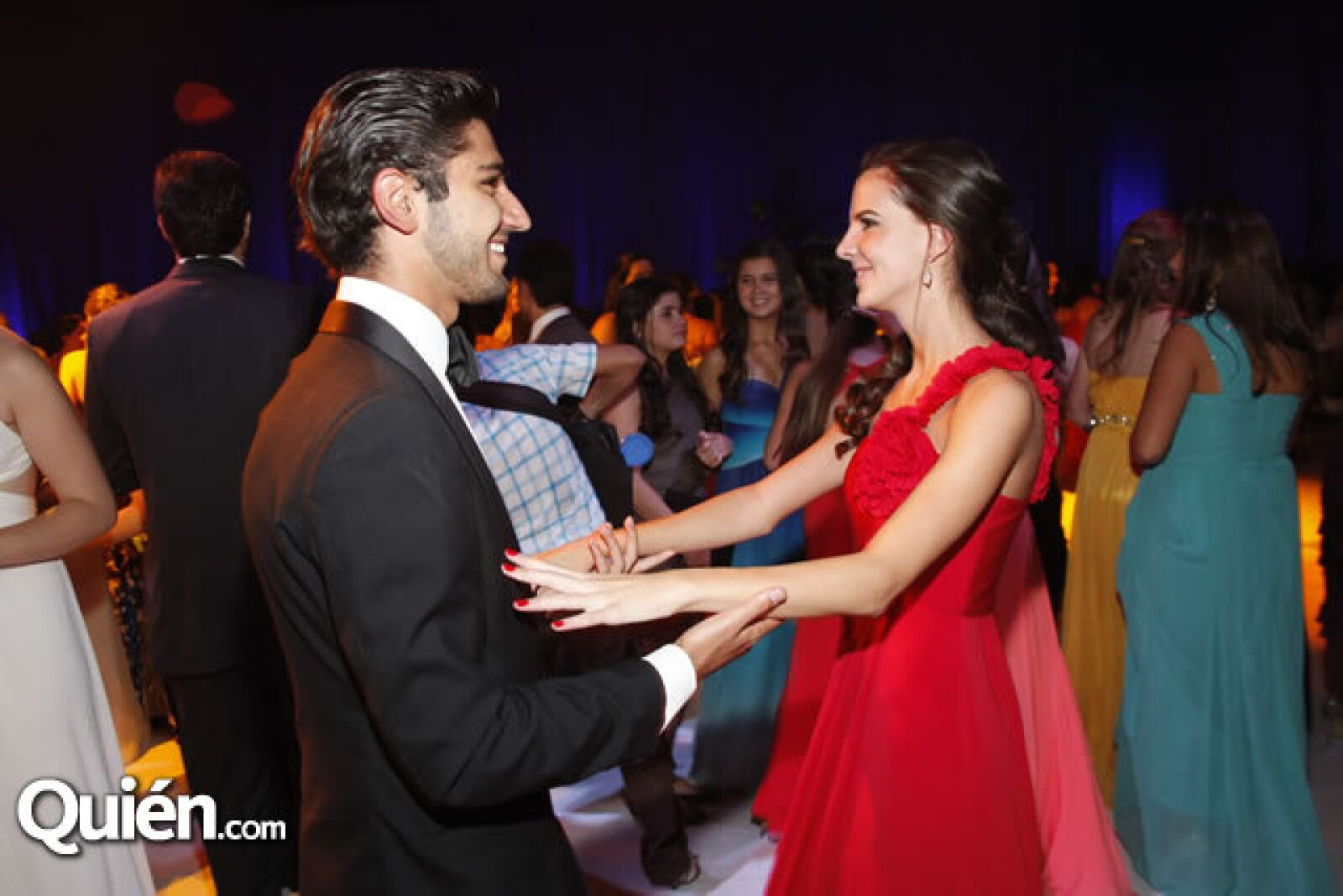 Alejandro Salomé y Mariana Ray