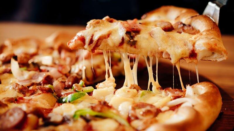 Catador de pizza