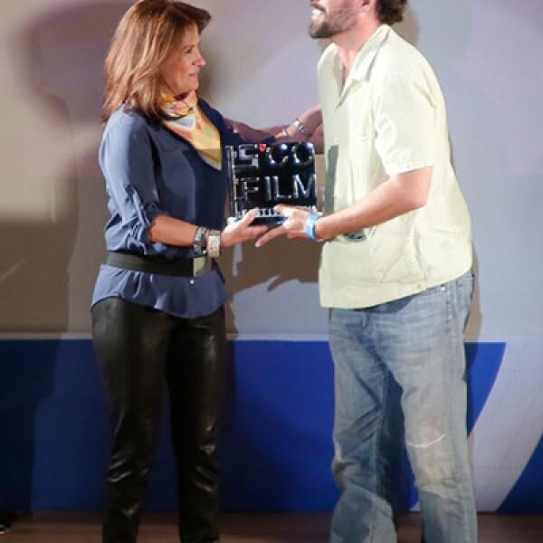 Lucero Solórzano y Manfred Mayners