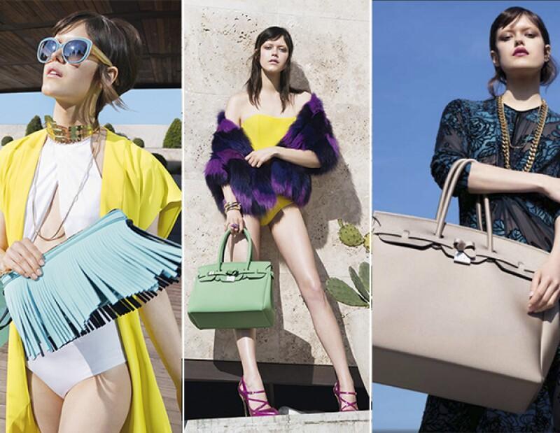 Los modelos principales son: La portofino, la Icon Bag y el Hippie Clutch.