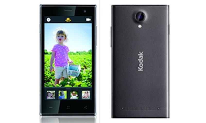 El Kodak Phone se venderá inicialmente en Europa. (Foto: Cortesía Kodak )