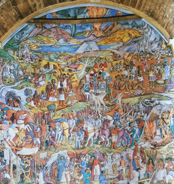 Mural Patzcuaro O'Gorman
