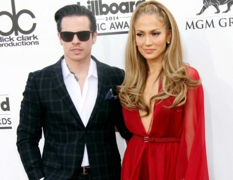 La última aparición de J.Lo y Casper fue en los Premios Billboard en mayo.
