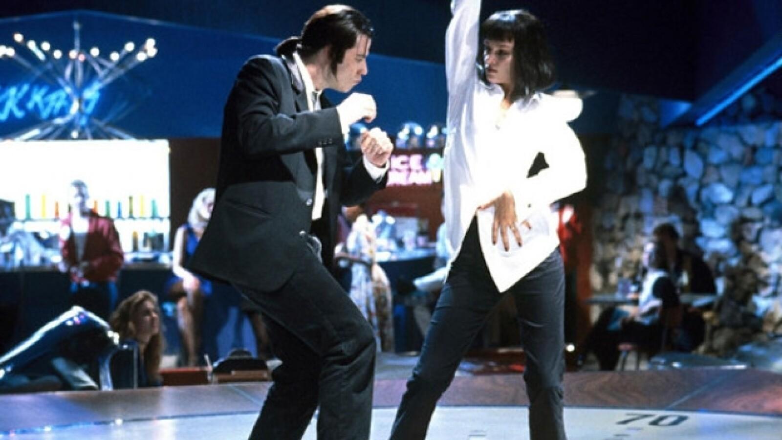 Fotograma de cinta Pulp Fiction