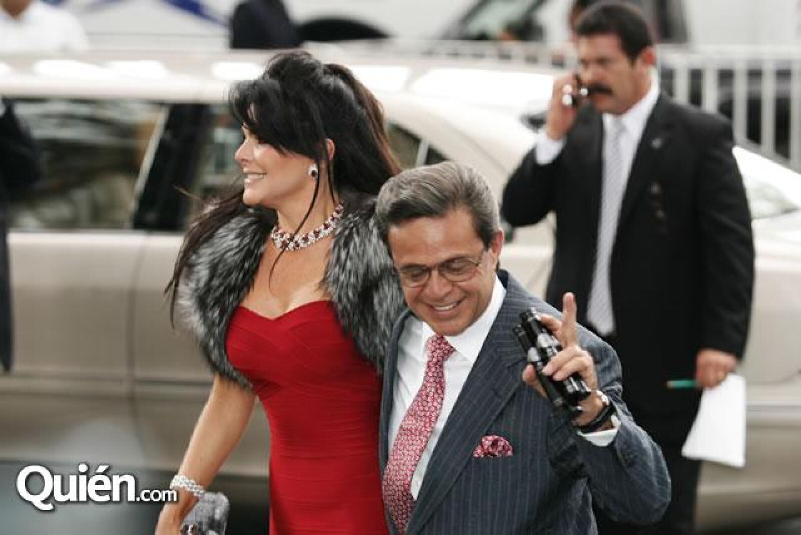 Mariana Tort y Carlos Peralta