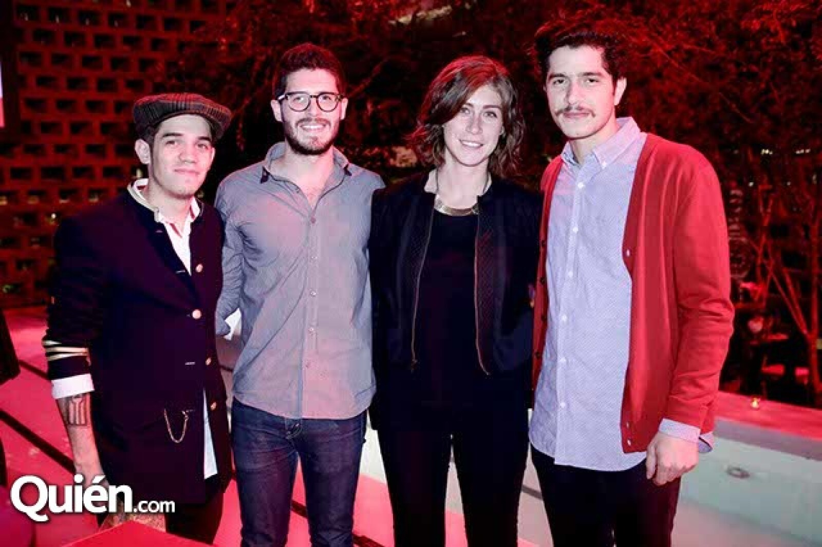 Antares Torres,Roberto Avelard,Frida Ojeda y Juan de la Campa