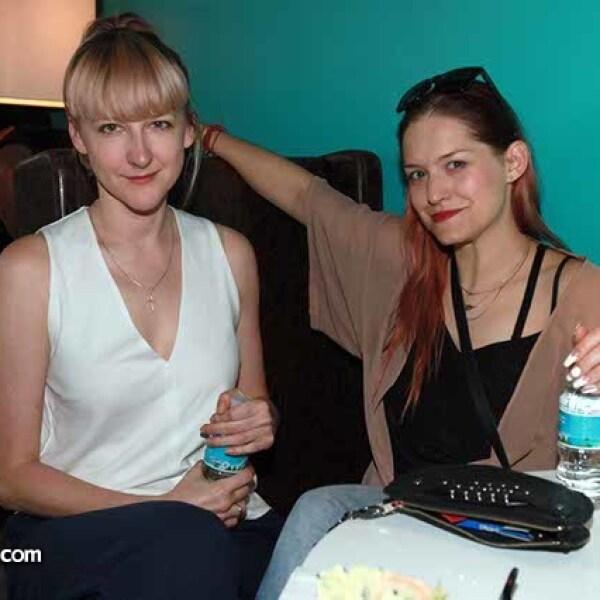 Natalia Bolek y Anna Miescek