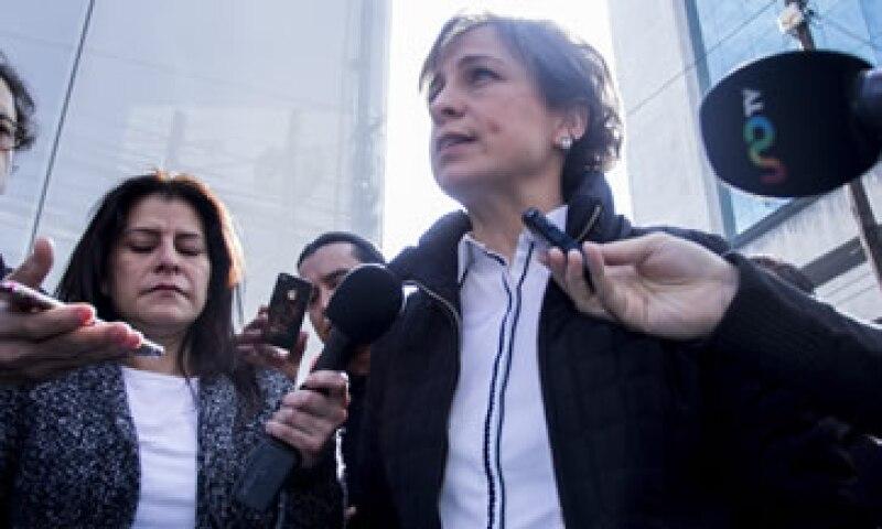 El 15 de marzo MVS dio por terminada la relación laboral con Carmen Aristegui y su equipo. (Foto: Cuartoscuro )