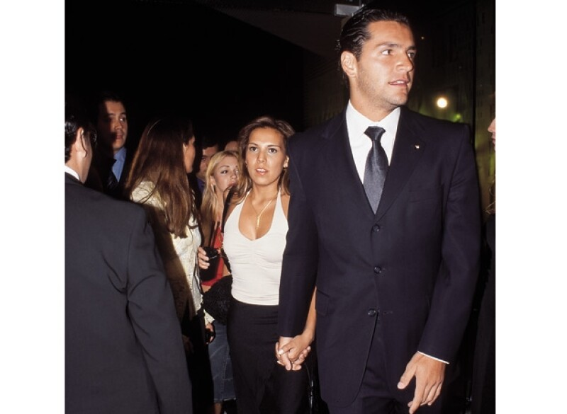 Se dijo que Martin y Ana Cristina Fox eran novios en 2002, pero él aseguró que sólo son buenos amigos.