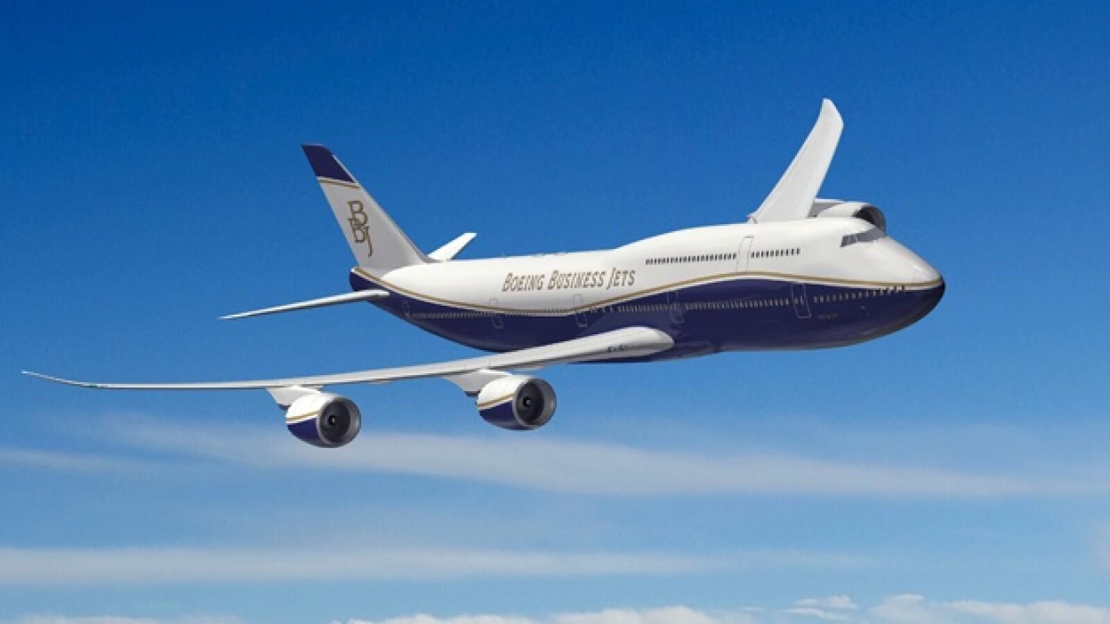 aviones boeing jets lujo