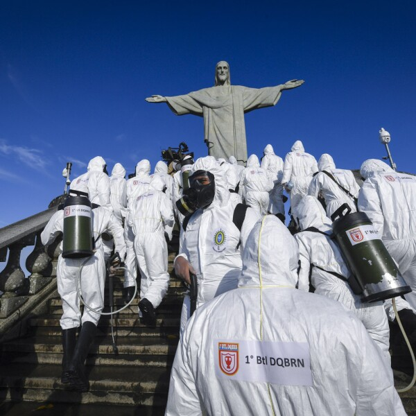 BRAZIL-HEALTH-VIRUS-CHRIST THE REDEEMER