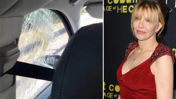 La cantante acaba de salir de la protesta con ayuda de unos motociclistas, después de que golpearan su taxi y trataran de llevarse como rehén al chofer.